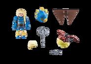 Playmobil - Astrid mit Fluganzug und Nimmersatt - Inhalt