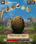Baby-Drachen Spielfeld Ei