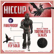 HTTYD3 Hicks Drachenrüstung Info