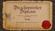 Feuerflug Diplom