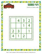 Rätsel kleines Sudoku 2