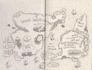 Insel Wattnbengel und Dickschädel-Insel
