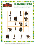 Rätsel kleines Bild-Sudoku