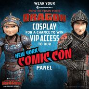 HTTYD3 Comic Con