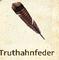 Truthahnfeder