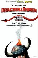 Drachenzähmen 3D Poster
