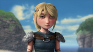 Out of the frying pan scene, Astrid