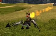 Schrecklicher Schrecken Titan Feuer SoD