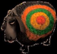 SoD Tier Schaf Ziel schwarz