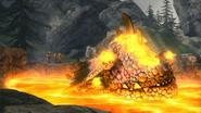 Eruptodon in Lava