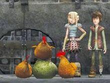 Hühner und Ei