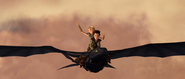 Astrids erster Flug