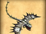 Rasselnder Qualmdrache/Dragons-Aufstieg von Berk