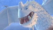 Snow wraith face