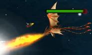 Dreifachstachel Titan AvB Feuer