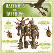 HTTYD3 Raffnuss und Taffnuss Drachenrüstung Info D