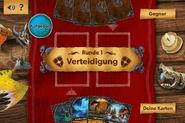 Kampf der Drachen 2 Spielfeld