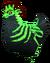 SoD Tier Huhn Finsternacht grün