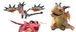 Nadderkralle Drachenbabys