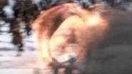 Wahnsinniger Zipper - Feuerrad