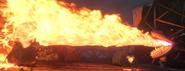 Riesenhafter Albtraum Feuer Film