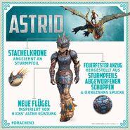 HTTYD3 Astrid Drachenrüstung Info D
