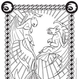 malvorlage dragons 3 | kinder ausmalbilder