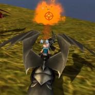 Klingenpeitschling Feuer rot SoD