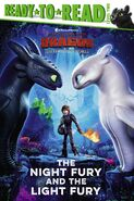HTTYD3 Night Fury and Light Fury