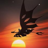 Silverphantom von Laracroft the dragonrider