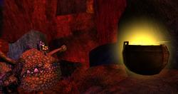 SoD Eruptodon mit Feuerwürmern