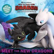 HTTYD3 Meet the New Dragons