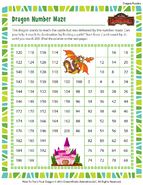 Rätsel Zahlenlabyrinth