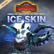 Eruptodon Eis-Skin
