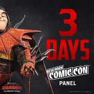 HTTYD3 Comic Con 2