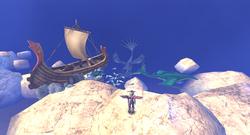 Sod Verschollenes Fischerboot