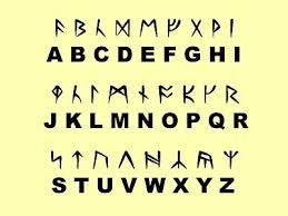 Runen schrift
