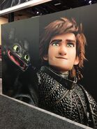 Hiccup httyd3 poster