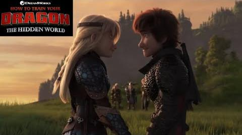 SPOILERS Full Clips (Hiccstrid, Grimmel, Light Fury, Hiccup scenes) HOW TO TRAIN YOUR DRAGON 3