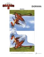 Basteln Diorama Vorlage 6