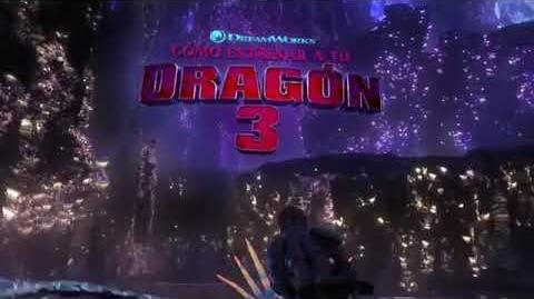 HTTYD 3 NEW TV SPOT (How to train your dragon) (Dragon Trainer)