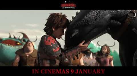 NEW TV SPOT - HOW TO TRAIN YOUR DRAGON THE HIDDEN WORLD HTTYD 3
