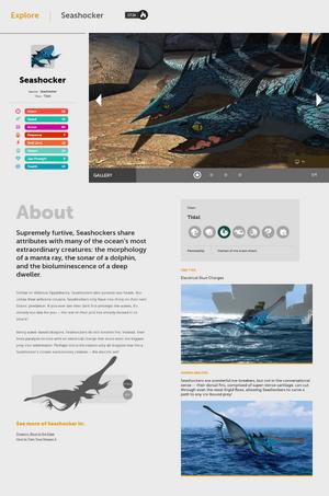 HTTYD-Webseite Schrecken der Meere