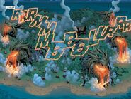 Immerflügler Feuer Comic