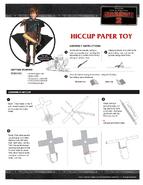 Basteln Papierfigur Hicks Anleitung 1