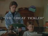 The Great Tickler title card