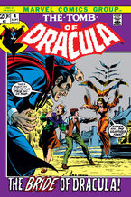 The Tomb of Dracula (Volume 1) Issue 4