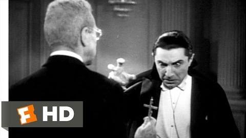 Dracula (9 10) Movie CLIP - Dracula and Van Helsing (1931) HD