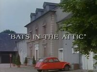 Bats in the Attic title card