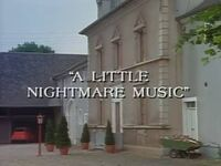 A Little Nightmare Music title card